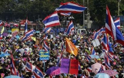 Thailand Dilanda Demo Besar-besaran, AS Serukan Solusi Damai
