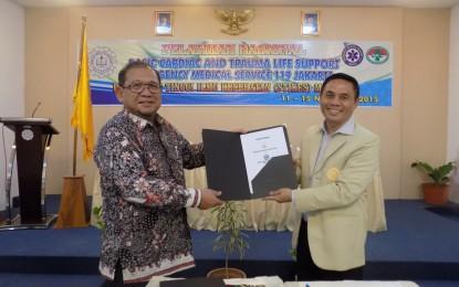 MOU Pelatihan BTCLS STIKES Mataram
