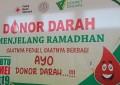 Kegiatan Donor Darah Oleh Mahasiswa bekerjasama dengan PMI