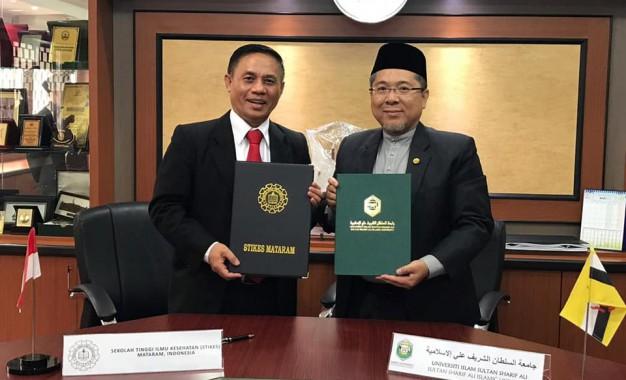 Penandatangan MOU dengan Universiti Islam Sultan Syarif Ali, Brunei Darussalam