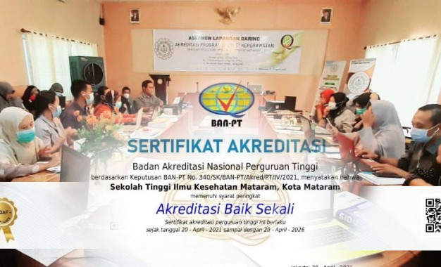 Selamat & Sukses Perolehan Akreditasi B Sekolah Tinggi Ilmu Kesehatan (STIKES) Mataram